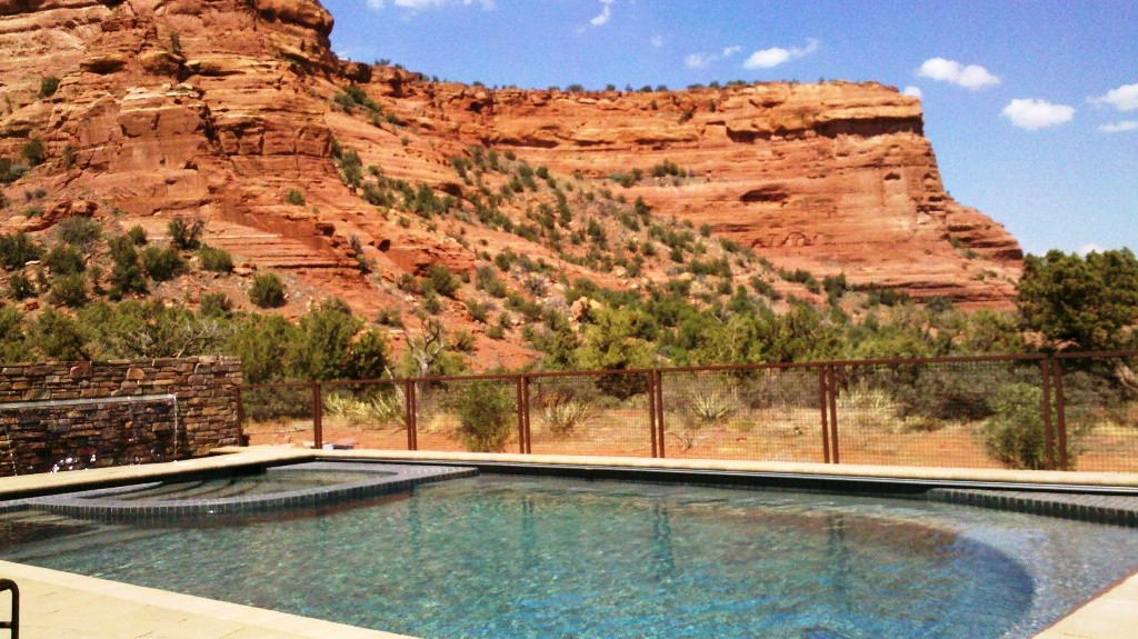 Amey pool Sedona AZ pool design