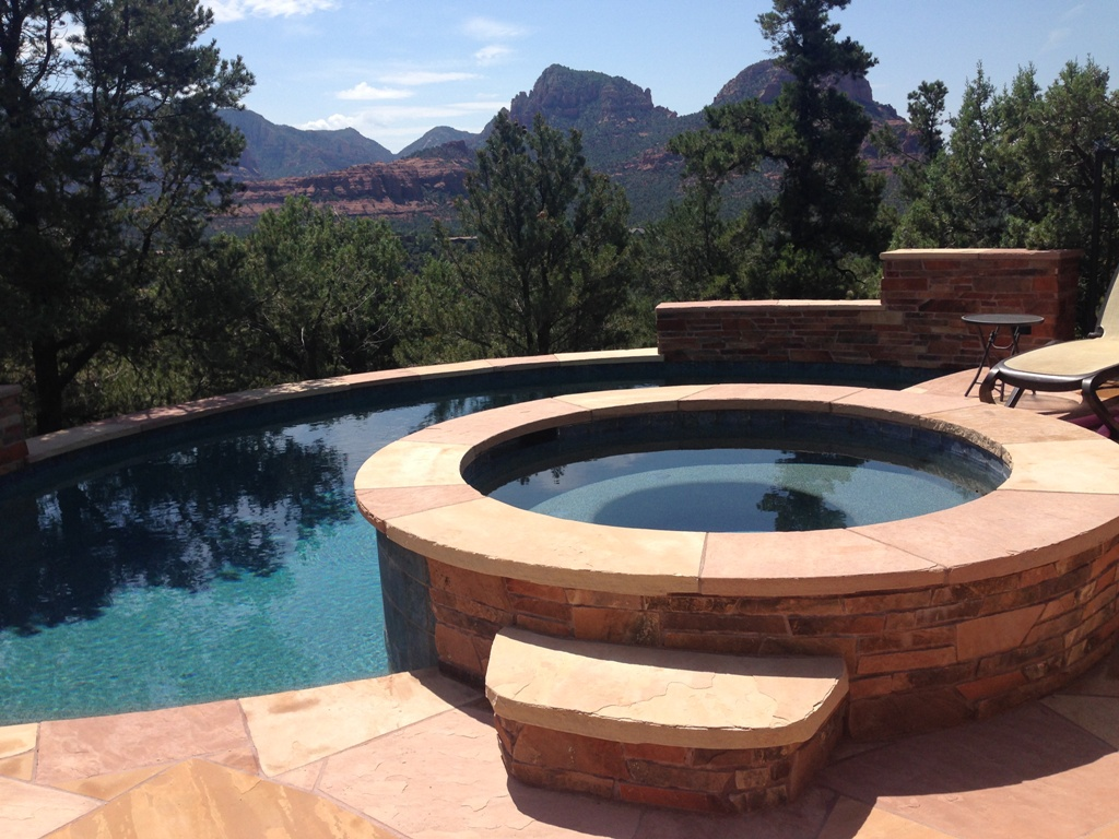 Sedona AZ custom spa contractor