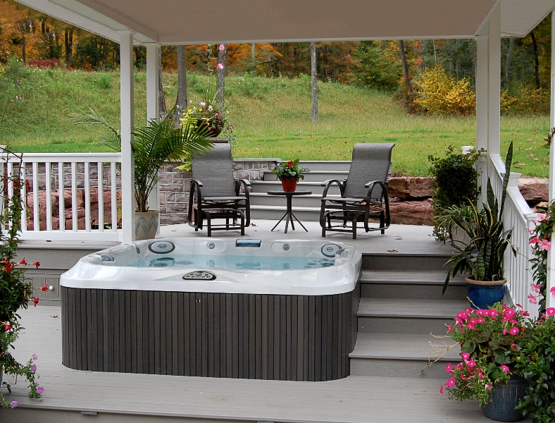 jacuzzi hot tub outdoor spa