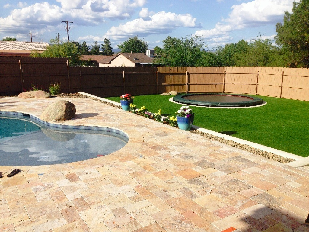 Cottonwood AZ cutom swimming pool contractor and pool design