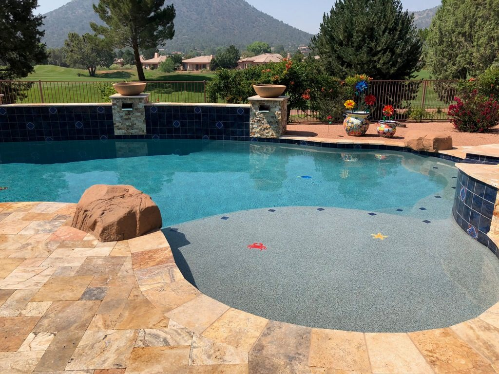 Sunsplash Custom Pool Sedona AZ